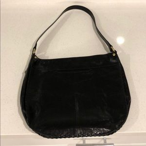 HOBO blk leather purse new without tags
